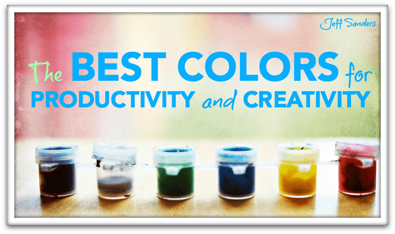 The Best Colors for Productivity and Creativity